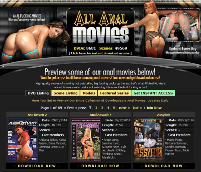 all anal movies