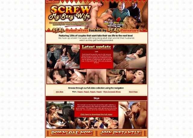 screw my sexy wife