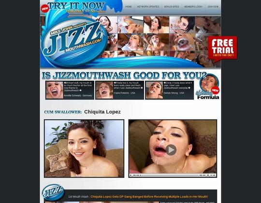 Jizz Mouth Wash :