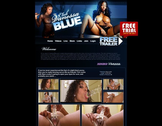 club vanessa blue