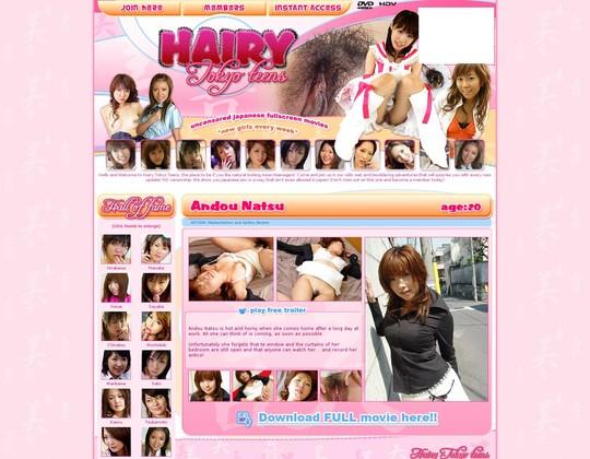 Hairytokyoteens