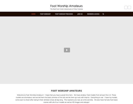 footworshipamateurs.com