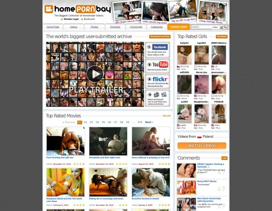 Homepornbay