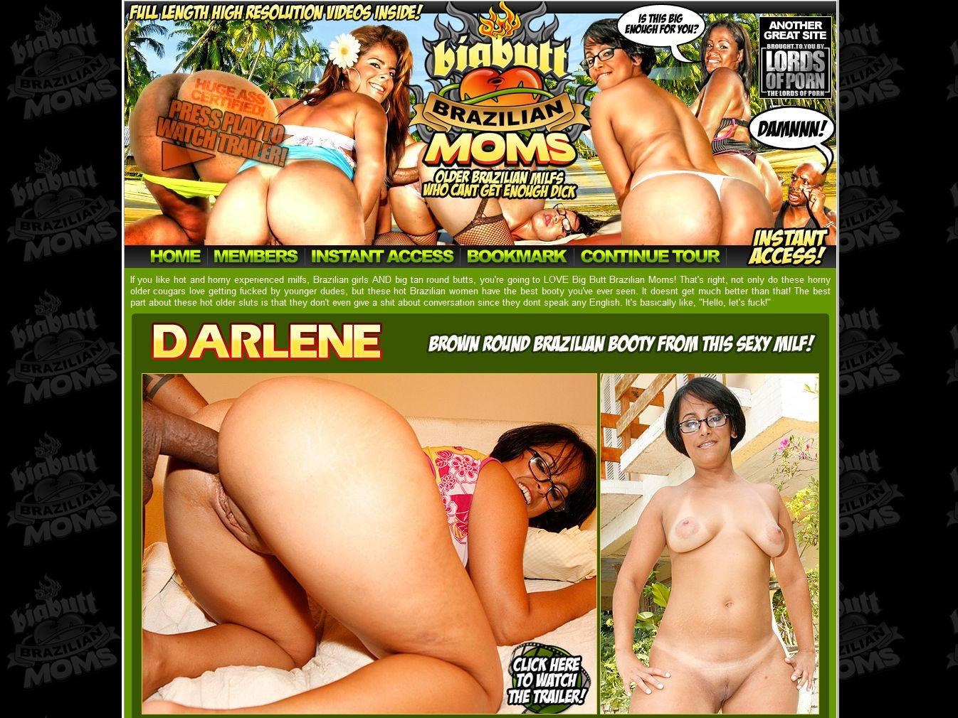 Big Butt Brazilian Moms