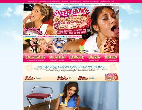 cheerleaderfacials.com