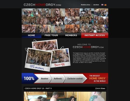 Czech Home Orgy