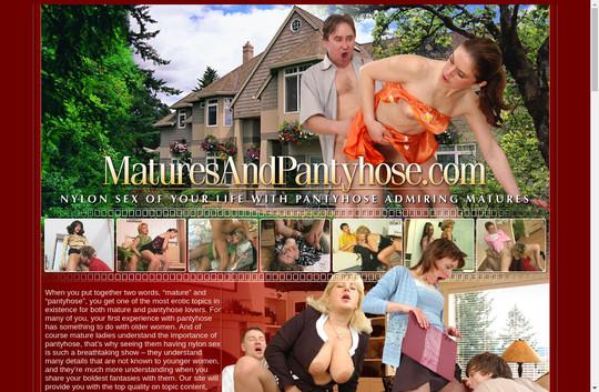 Matures And Pantyhose