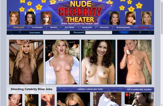 Nude Celebrity Theater 95