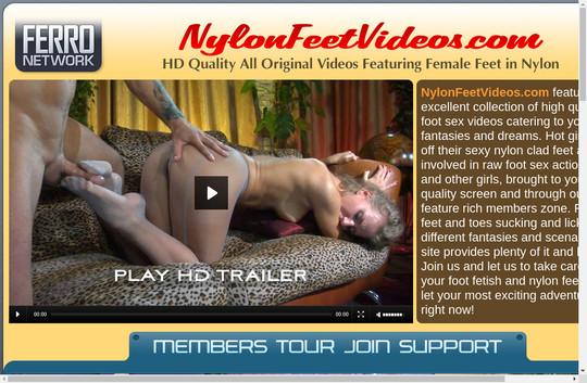 Nylon Feet Videos