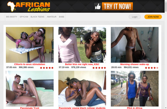 African Black Lesbians