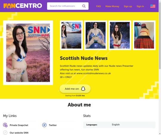 Scottish Nude News