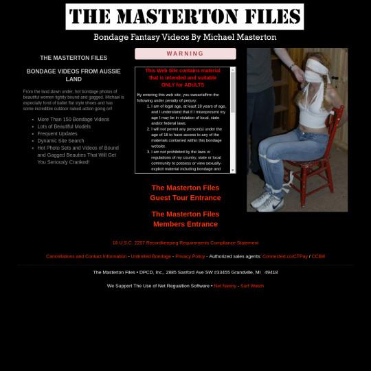 the masterton files