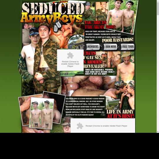 seduced army boys