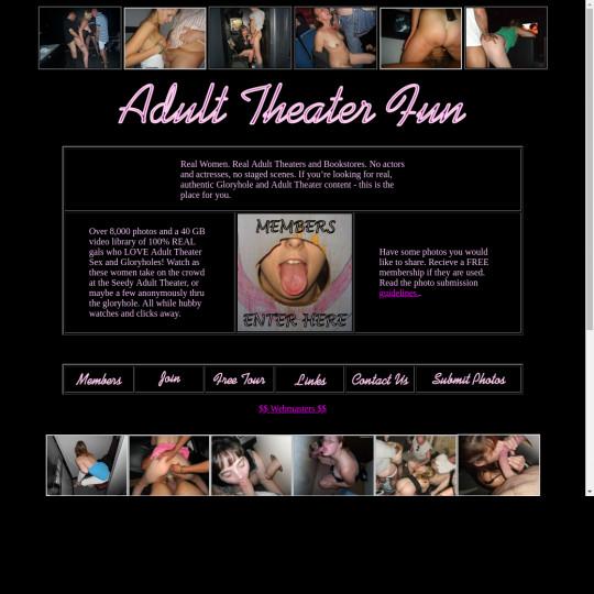 adult theater fun
