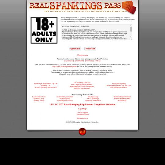 real spankings pass
